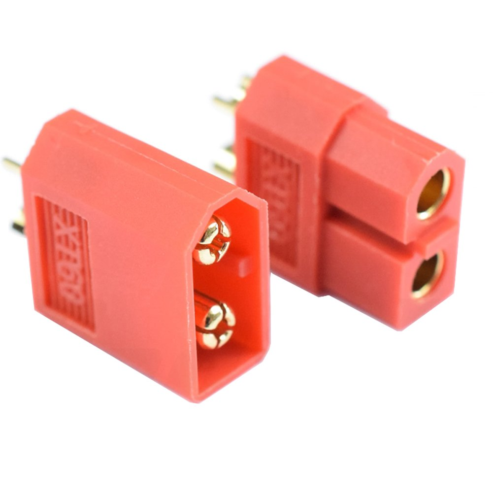 Red Nylon XT60 Connectors Factory ODM OEM private lable package